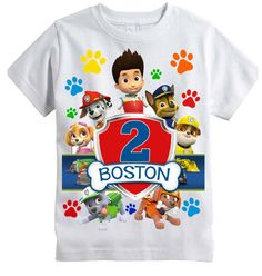 Hey, I found this really awesome Etsy listing at https://www.etsy.com/listing/222852813/paw-patrol-birthday-shirt-personalized