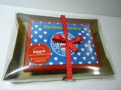 Caixa MDF do Bahia com embalagem personalizada para presente. https://www.facebook.com/amoracomunicacao