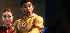 Jesse Quick and Wally West are my faves #TheFlash