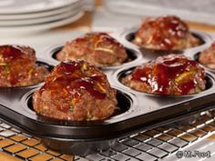 Two-Step Meat Loaf Muffins - This easy weeknight dinner is a fun twist on an old-fashioned fave. It's a ground beef dinner you'll be making again and again!