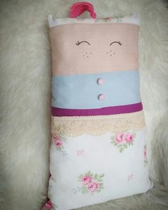 Pillow Lady Doll by RozFiogos