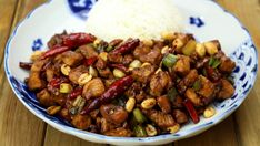 Kung Pao Chicken Tastemade Spicy, sweet and incredibly delicious chicken with peanuts! Serious Eats, Asian Recipes, Healthy Recipes, Ethnic Recipes, Chinese Recipes, Simple Recipes, Kung Pao Chicken, Fried Chicken, Szechuan Chicken