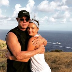 The ultimate birthday hike on the hills of Antigua racing the boat back to the Port with the love of my life @gabrielleanwar || shareefmalnik's Instagram