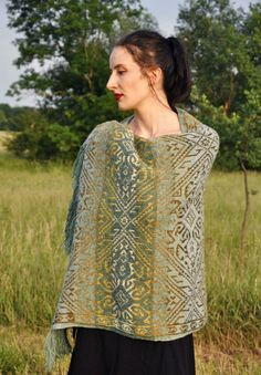 Highland Symphony Plaid Shawl Knitting pattern by Marion Schlenzka - knittings shawl Knitting Designs, Knitting Patterns, Crochet Patterns, Carpet Diy, Hotel Carpet, Carpet Tiles, Patterned Carpet, Neutral Carpet, Amigurumi