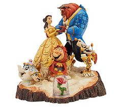 Jim Shore Disney Traditions Beauty & The Beast Figurine