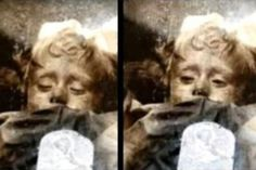 "Why does this child mummy appear to open and close her eyes? - n the catacombs of Sicily, there's a creepy mummy of a two-year-old girl who appears to open and close her eyes on a regular basis. Here's how an Italian anthropologist solved the mystery of this little ""sleeping beauty""."