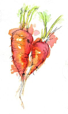 Eat Your Veggies! by Abby Diamond, via Behance