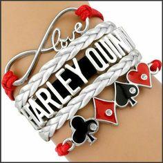 Cute Harley Quinn bracelet!