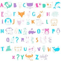 #ABC #pastel - #Lightbox - #lichtbak - #letter set - #ALittleLovelyCompany #kidsroom #decoration #kinderkamer #kinderzimmer #littlethingz2