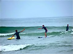 Surf lessons. Got to do it!