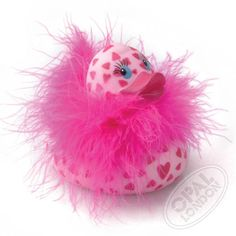Darling duck, the one and only, find her and her friends on www.badeaender.dk