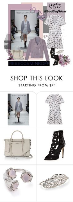 """""""Rebecca Minkoff #SeeBuyWear collection"""" by carola-corana ❤ liked on Polyvore featuring Rebecca Minkoff, women's clothing, women, female, woman, misses, juniors, contestentry, seebuywear and rmspring"""