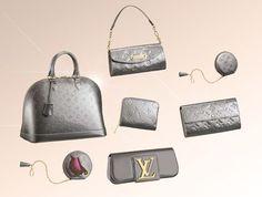 Louis Vuitton -silver