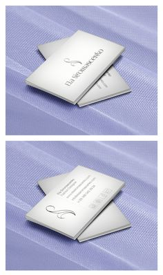 Business Card - Stylist Ela Siromascenko