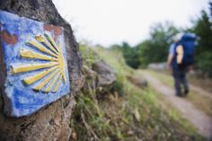 Hiker pilgrim on the Camino de Santiago, Asturias, Spain, Europe - Christian Kober / robertharding/Getty Images