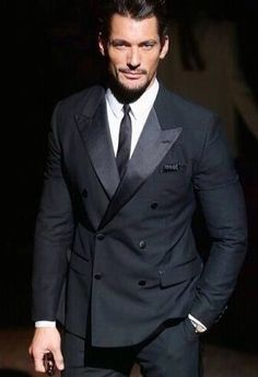 David Gandy is such a dandy! Gorgeous tux!