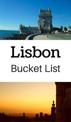 Best things to do in Lisbon.