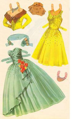 Kathleen Taylor's Dakota Dreams: Thursday Tab- Saalfield The Queen of the Dance, 1954