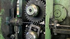 Wellengitter - Kröpfmaschine