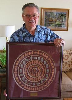 I finally figured out what to do with my Disney Pressed Pennies!!!  Bill H. Holds a Cast Member Retirement Collection of pressed pennies and elongated coins.