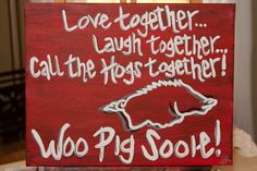 Custom Razorback Canvas on Etsy- totally want this!