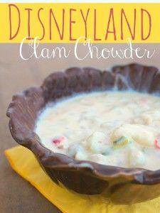 Disneyland Clam Chowder Copycat