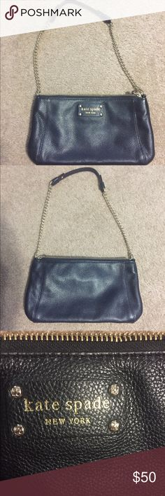 Katie Spade purse Very cute purse. The measurements are 10 and a half inches long and 6 inches tall. Looks brand new. kate spade Bags Shoulder Bags