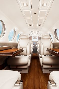 Charter Plane Interior by Nicholas Milligan & David Hardenbergedited by classy-captain