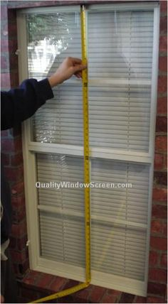 Can you measure and build your own screen for a window? Answer: Making your own screens is a DIY project, and a...