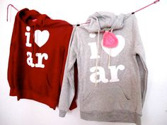 I heart AR hoodies by shopELL on Etsy. Here is a sampling of the items (from the 38 artists that will be on site) that will be at the Main Street Food Truck Festival - Little Rock on October 6! You don't wanna miss it!