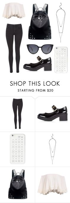 """""""Untitled #87"""" by gimevelazquez on Polyvore featuring Maison Scotch, River Island, MICHAEL Michael Kors, GUESS by Marciano, Chicnova Fashion and Fendi"""