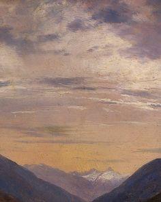 Alexandre Calame Alpine Landscape