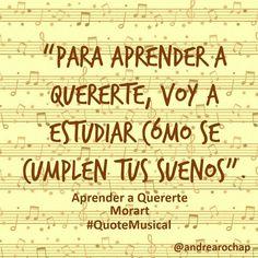 """#QuoteMusical Esta canción me encanta... es de @morat y cuenta la historia de una persona que literalmente """"estudia"""" a la persona que quiere... """"Voy a leerte siempre muy lentamente  Quiero entenderte"""". ¡Es hermosa, me encanta! #Música #Music #quotes"""