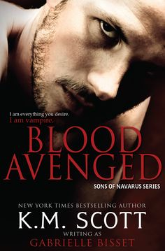 New cover for Blood Avenged (Sons of Navarus #1)