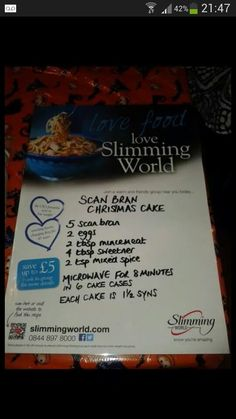 Student Slimmer: RECIPE: Chocolate Scan Bran Cake AND ...