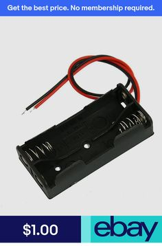 Other Multipurpose Batteries Consumer Electronics Electronics Components, Consumer Electronics, Plastic Box Storage, Battery Sizes, Things To Buy, Ebay, Black, Purpose, Products
