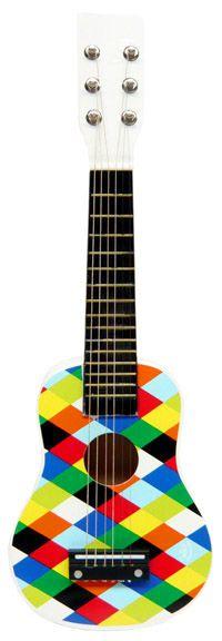 Guitare Harlequin - Instruments de musique pour enfants chez Bianca and Family