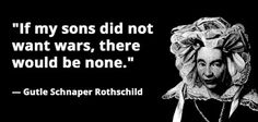 PHILOSOPHICAL ANTHROPOLOGY: Rothschild game plan was to reverse the results of...