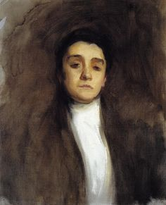 Eleanora Duse | John Singer Sargent | oil painting