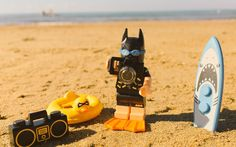 Always be prepared for a day at the seaside.