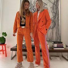 Plus Size Fashion for Women Over 40 - Fashion Trends Easy Style, Neue Outfits, Moda Boho, Moda Vintage, Winter Mode, Orange Fashion, Mode Streetwear, Mode Inspiration, Mode Style