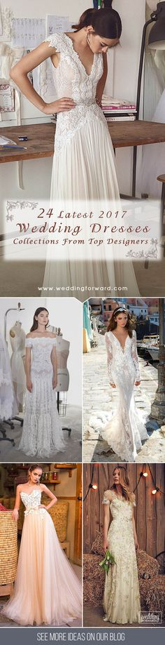 2017 Collections From Top Wedding Dress Designers ❤ It's time to look on the latest wedding dresses from top designers that will happen next year. The biggest bridal trends are plunging necklines, capes that can be perfect alternative to veil and oversized bows. See more: http://www.weddingforward.com/wedding-dress-designers/ #wedding #dresses #designers