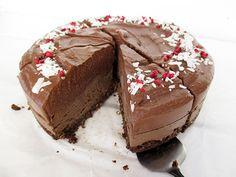 Nix Backen Doppelter Schoko Kuchen (Vegan, Glutenfrei, Ohne Nüsse, Ohne Kokosnuss, Fruchtgesüßt)