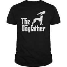 The DogFather Italian Greyhound T Shirts, Hoodies. Get it now ==► https://www.sunfrog.com/Pets/The-DogFather-Italian-Greyhound-Black-Guys.html?57074 $23