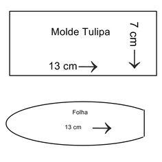Passo a Passo Tulipa de Tecido Passo a passo: https://www