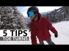 5 Tips for Toe Turns - Beginner Snowboarding - YouTube