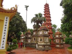 The stunning and impressive Tran Quoc Pagoda Hanoi, Vietnam, visited on 22nd June 2014, trip report by The Travelling Phase.