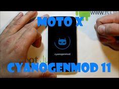 How to install CyanogenMod 11 KitKat rom on the Moto X