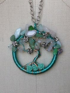 Spring Tree of Life by PhoenixandDragon on Etsy