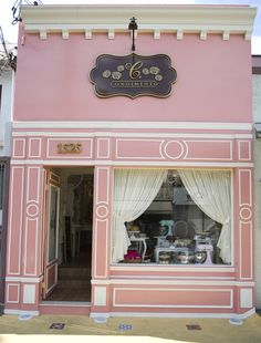 Charming pink shop                                                       …